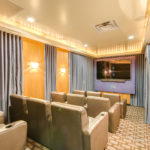 Hayden Ferry movie room