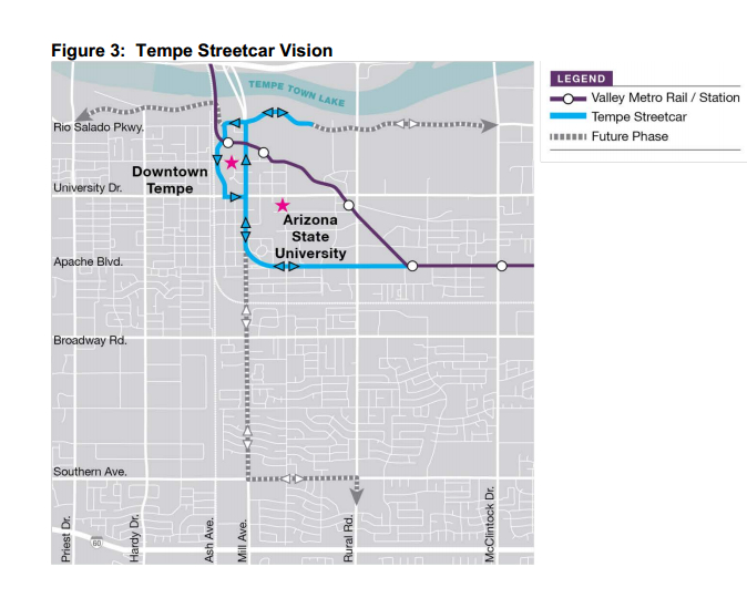 Tempe Streetcar Vision