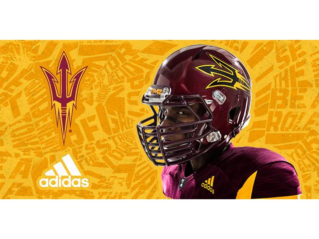 ASU Maroon adidas uniform