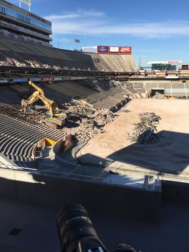 ASU stadium renovation
