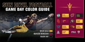 2013 ASU Colors schedule